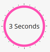 3 seconds to hold your audience's attention after they land on your website