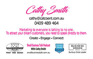 Cathy Smith's business card