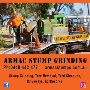 Armac Stump Grinding