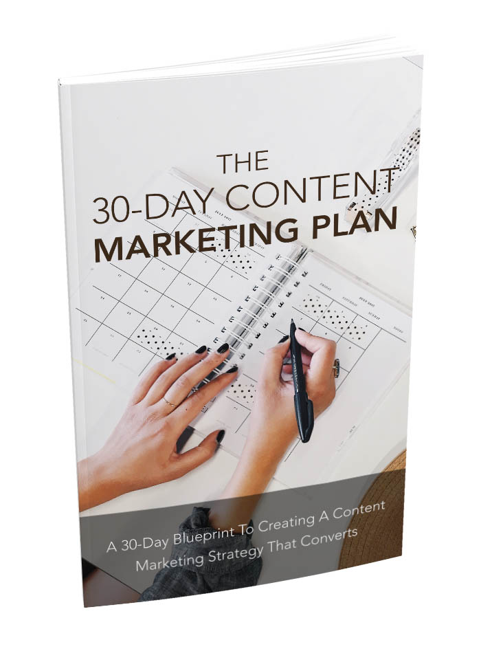 The 30 Day Content Marketing Ebook